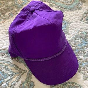 Purple Cobra Frat Hat